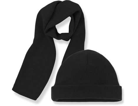 1+ in the Family LUCCA Beanie & Scarf