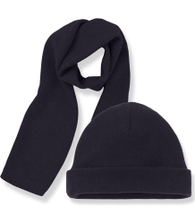 1+ in the Family LUCCA Beanie & Scarf 1  in the Family LUCCA Beanie & Scarf dark blue