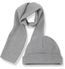 1+ in the Family LUCCA Beanie & Scarf 1  in the Family LUCCA Beanie & Scarf grey