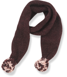 1+ in the Family BERNA Scarf 1 in the Family BERNA Scarf burgundy