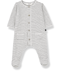1+ in the Family GIRONA Jumpsuit w/Feet 1more in the Family GIRONA Jumpsuit