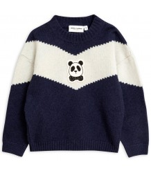 Mini Rodini PANDA Knitted Wool Pullover Mini Rodini PANDA Knitted Wool Pullover