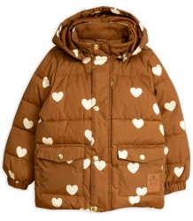 Mini Rodini HEARTS Pico Puffer Jacket - LIMITED EDITION Mini Rodini HEARTS Pico Puffer Jacket - LIMITED EDITION