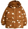 Mini Rodini HEARTS Pico Puffer Jacket - LIMITED EDITION Mini Rodini HEARTS Pico Puffer Jacket - LIMITED EDITION
