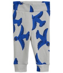 Mini Rodini FLYING BIRDS NB Leggings Mini Rodini FLYING BIRDS NB Leggings grey
