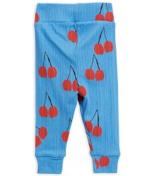 Mini Rodini CHERRY NB Leggings Mini Rodini CHERRY NB Leggings blue