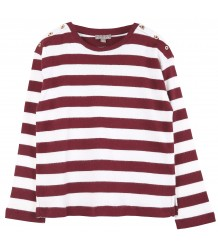 Emile et Ida Tee Shirt STRIPED Emile et Ida Tee Shirt STRIPED vin red
