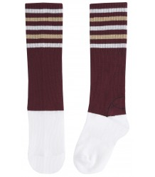 Emile et Ida Tennis Sock STRIPES Emile et Ida Tennis Sock STRIPES wine red