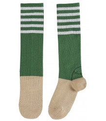 Emile et Ida Tennis Sock STRIPES Emile et Ida Tennis Sock STRIPES green