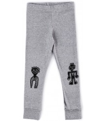 Nununu TRIBAL DANCERS Leggings Nununu TRIBAL DANCERS Leggings grey melange