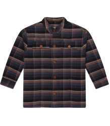 Repose AMS Shirt Velvet Check Repose AMS Shirt Velvet Check