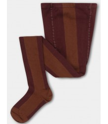 Repose AMS Tights STRIPE Repose AMS Tights STRIPE  rosewood