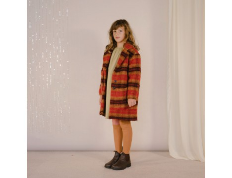 Repose AMS Overcoat Woolly CHECK