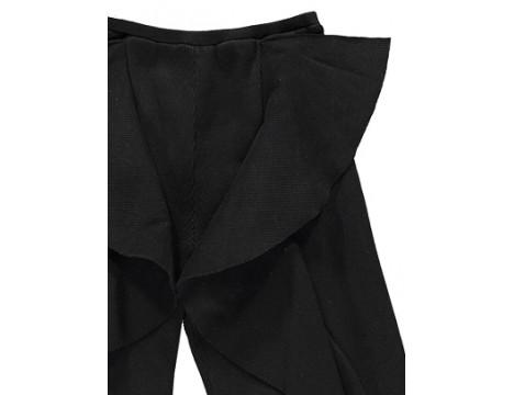 Caroline Bosmans Ribbed Pants Ruffle