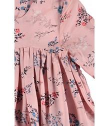 Caroline Bosmans Maxi Wide Dress Layers FLOWER Caroline Bosmans Maxi Wide Dress Layers FLOWER pink