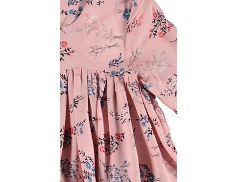 Caroline Bosmans Maxi Wide Dress Layers FLOWER