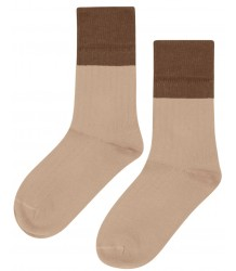 Mingo Socks Rib 2-tone Mingo Knee Socks Rib 2-tone