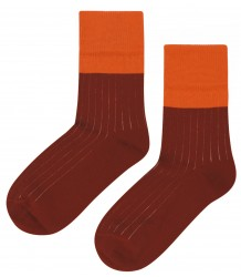 Mingo Socks Rib 2-tone Mingo Socks Rib 2-tone
