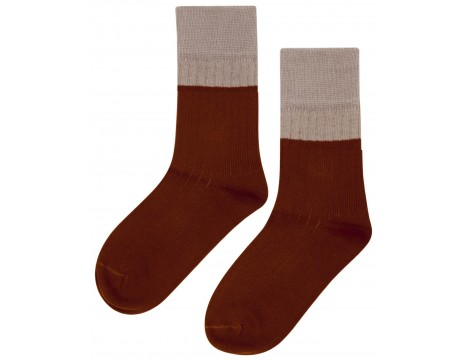 Mingo Mingo Socks Rib 2-tone