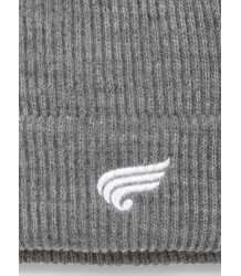 Carson Unisex Knitted Beanie Finger in the Nose Carson Unisex Knitted Beanie grey melange