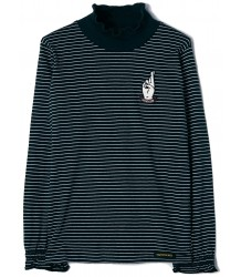 Finger in the Nose Teeroko STRIPE T-shirt with Smock Finger in the Nose Teeroko STRIPE T-shirt with Smock