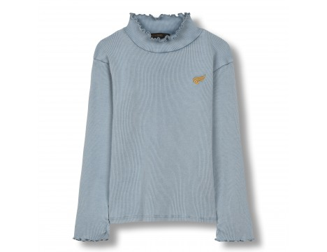 Finger in the Nose Spice Knitted LS High Collar T-shirt