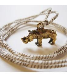 Atsuyo et Akiko Rhino Ribbon Necklace Atsuyo et Akiko, Rhino Ribbon Necklace