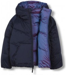 Finger in the Nose Snowdance Reversible Down Jacket Snowdance Reversible Down Jacket sailor blue