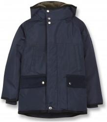 Finger in the Nose Nordfolk Unisex Multipockets Parka Finger in the Nose Nordfolk Unisex Multipockets Parka navy blue