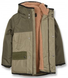Finger in the Nose Nordfolk Unisex Multipockets Parka Finger in the Nose Nordfolk Unisex Multipockets Parka khaki