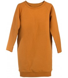 Little Hedonist RUTH Sweatdress Little Hedonist RUTH Sweatdress pumpkin spice