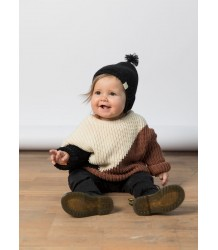I DIG DENIM Ben Knitted Baby Bonnet I DIG DENIM Ben Knitted Baby Bonnet black