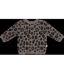 Mini Sibling Knit Sweater-Cardigan LEOPARD Mini Sibling Knit Sweater-Cardigan LEOPARD