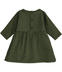 Mini Sibling Baby Dress Mini Sibling Baby Dress moss green