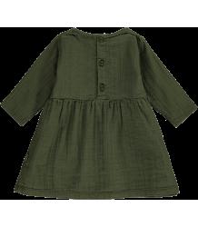 Mini Sibling Baby Dress Mini Sibling Baby Dress moss green