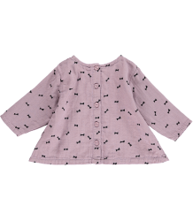Mini Sibling LS A-Line Top BOW Mini Sibling LS A-Line Top BOW petal