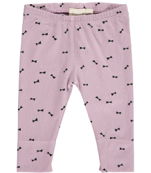 Mini Sibling Baby Slim Pants BOW Mini Sibling Baby Slim Pants BOW lila