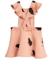 Mini Rodini GUINEA PIG Sweat Dress Mini Rodini GUINEA PIG Sweat Dress pink