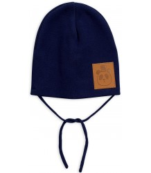 Mini Rodini PANDA Hat Mini Rodini PANDA Hat dark blue