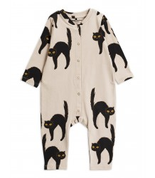 Mini Rodini CATZ Jumpsuit Mini Rodini CATZ Jumpsuit grey