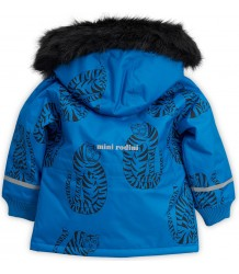 Mini Rodini K2 TIGER Parka - LIMITED EDITION Mini Rodini K2 TIGER Parka blue