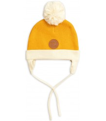 Mini Rodini Penguin Baby Hat Mini Rodini Penguin Baby Hat yellow