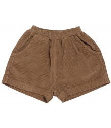 Maed for Mini Chocolate Pony Rib Shorts Maed for Mini Chocolate Pony Rib Shorts