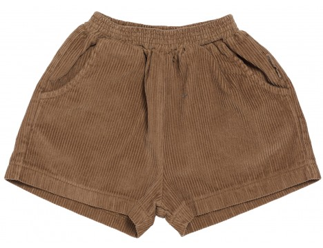 Maed for Mini Chocolate Pony Rib Shorts