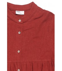 Maed for Mini Bordeaux Badger Dress Maed for Mini Bordeaux Badger Dress