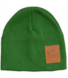 Mini Rodini PANDA Hat Mini Rodini PANDA Hat green