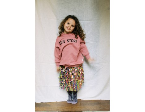 Maed for Mini Pink PIGEON Sweater