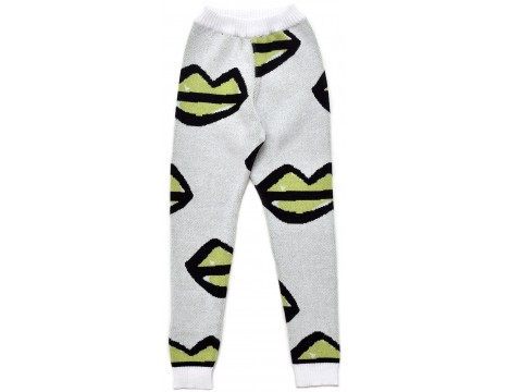 Little Man Happy XOXO Knit Leggings