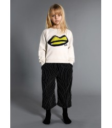 Little Man Happy Velvet Cropped Pants Little Man Happy Velvet Cropped Pants STRIPED