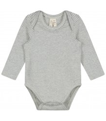 Gray Label Baby L/S Onesie Gray Label Baby L/S Onesie gey melange cream